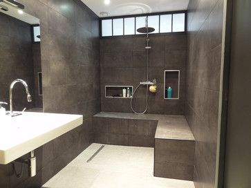 Appartement Rue De Cuire Modern Bathroom Other Metro