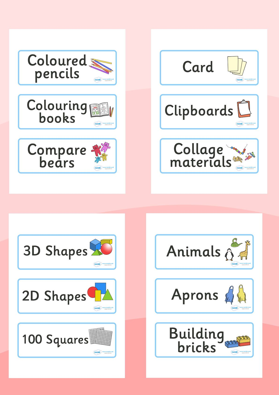 Twinkl Resources Gt Gt Classroom Resource Labels Gt Gt Printable