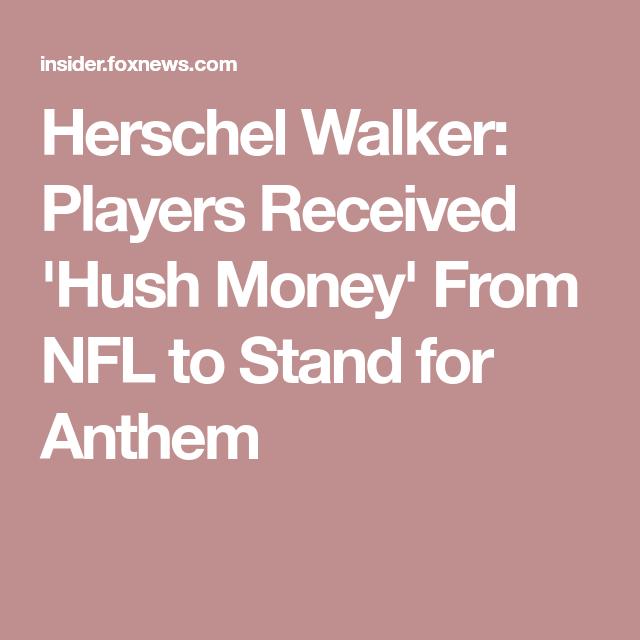Herschel Walker Players Received Hush Money From Nfl To
