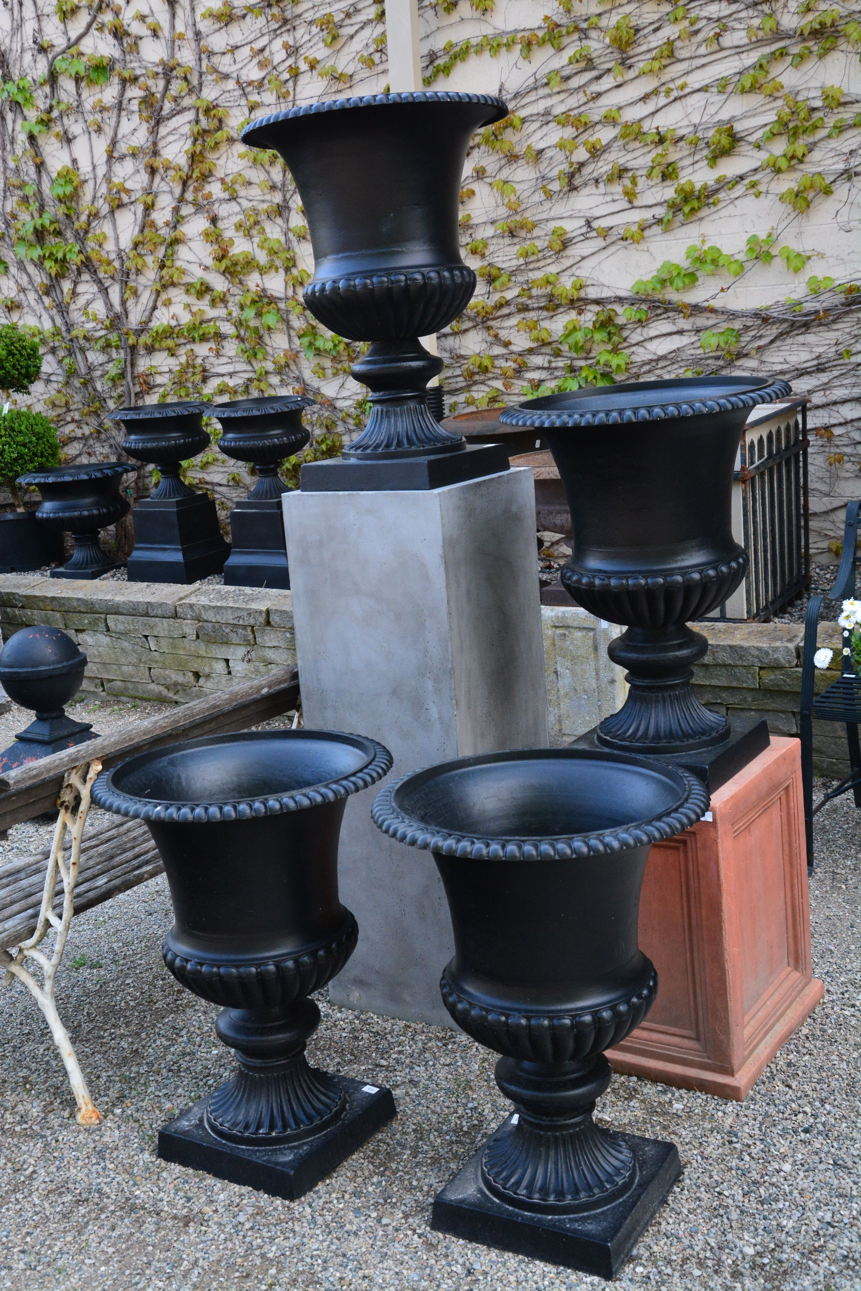 cast and products stone acanthus urns planter planters
