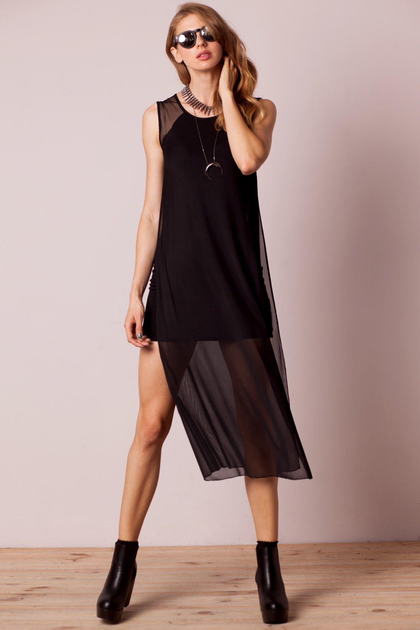 Fayence long tulle dress black whatus new new in new arrivals