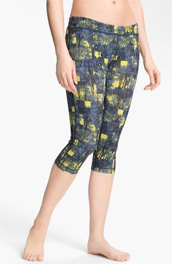 Unit-Y 'Motivator' Pattern Capris available at Nordstrom
