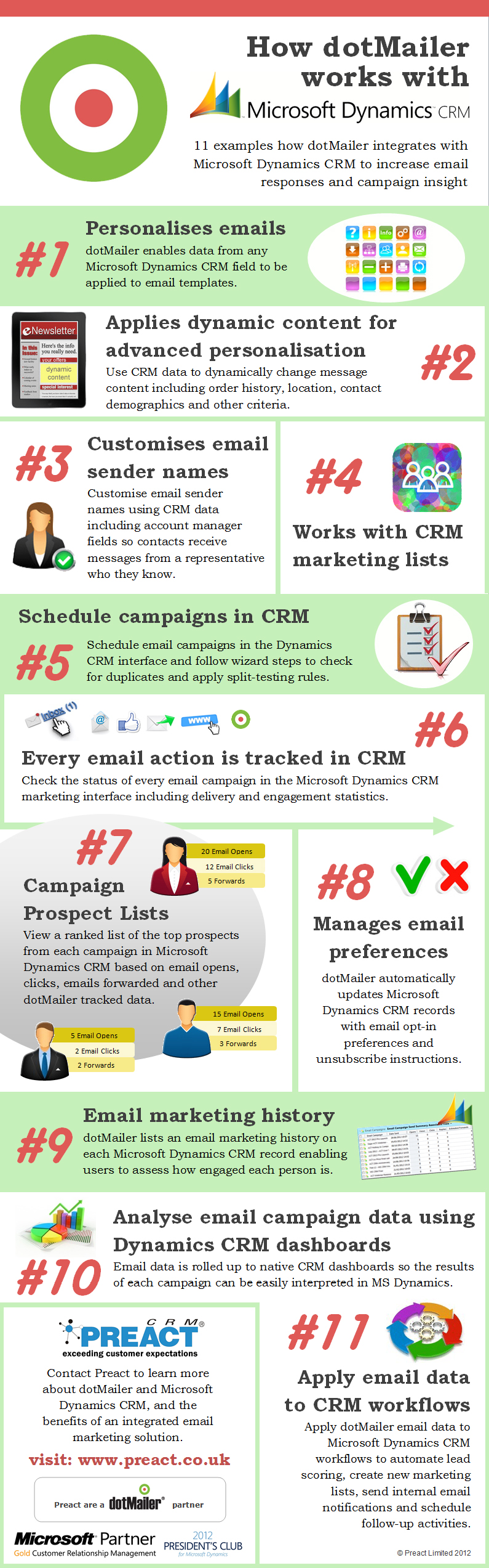 11 examples how dotMailer emarketing integrates with Microsoft ...