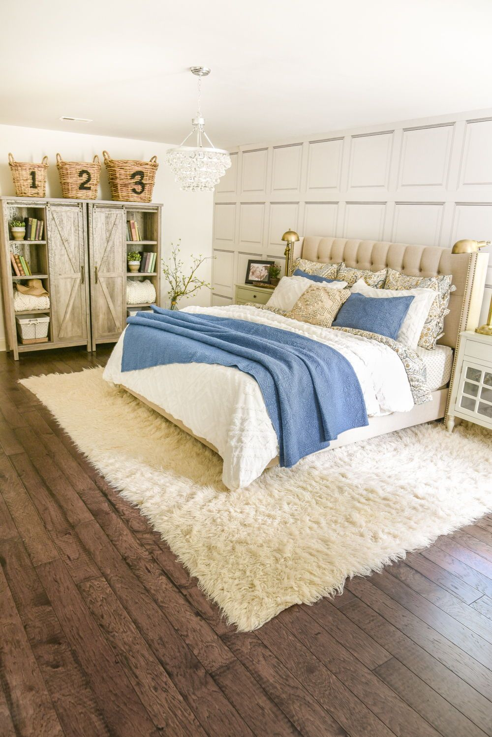Chenille comforter set via home stories a to z bedroom