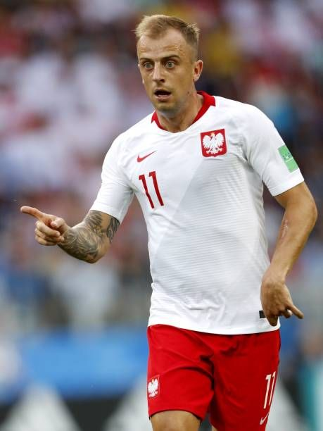 Kamil Grosicki Of Poland During The 2018 Fifa World Cup