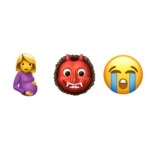 Emoji Domain Is Available Pregnant Woman Ogre Loudly Crying Face Emoji Ogre Crying Face