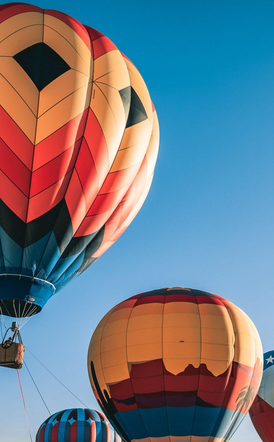 950x1534 Colorful Hot Air Balloons Festival Wallpaper Air Balloon Hot Air Hot Air Balloon Wallpaper colorful hot air balloon blue