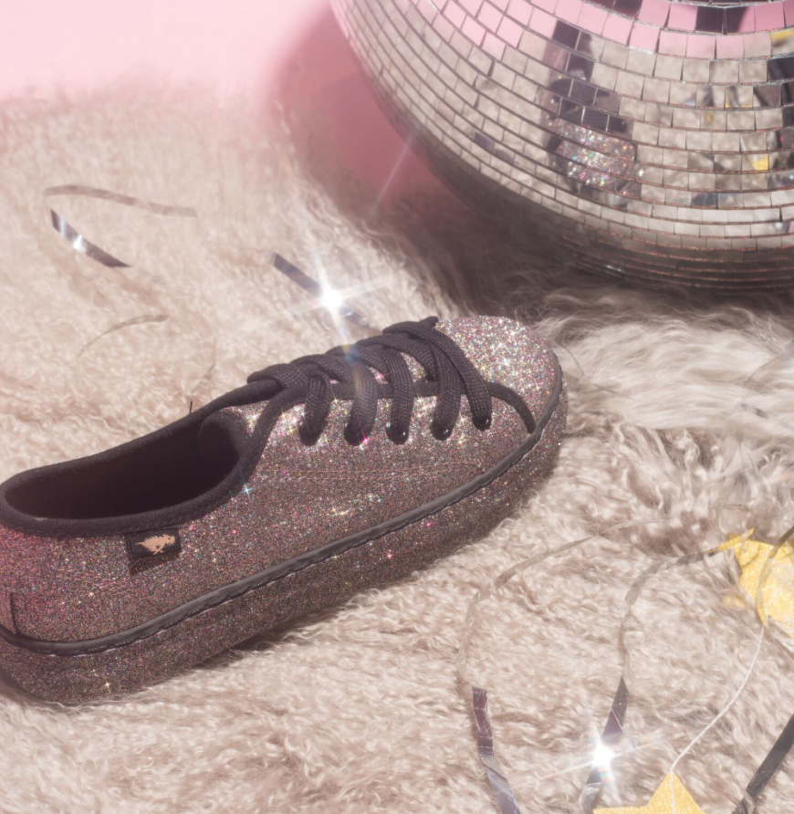 3b43d24a0bcf Sparkle bright in the Mistie sneaker! With a retro yet modern silhouette