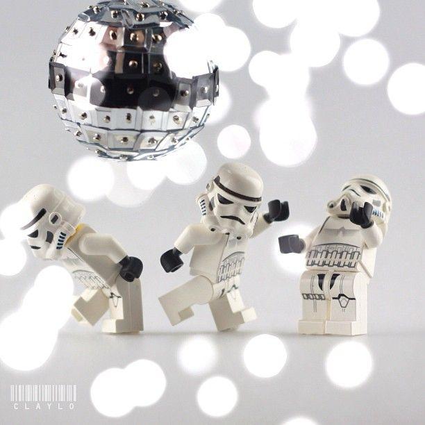 Disco Trooper by claylo   LEGO Star Wars Stormtrooper