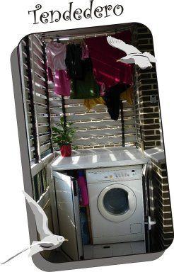Lavadero exterior decorar tu casa es for Lavaderos para casa