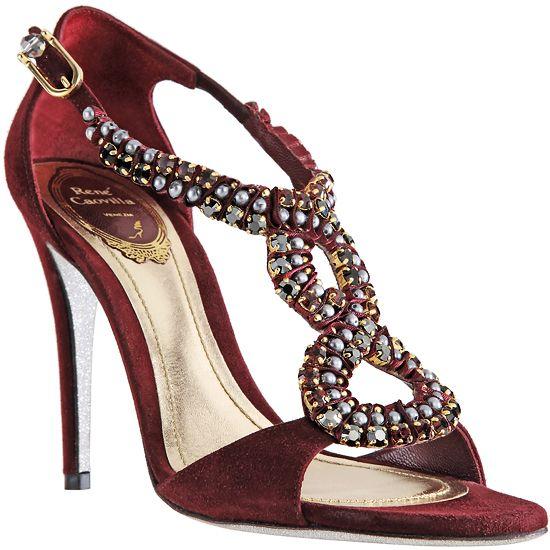 RENE CAOVILLA Sandals - Shoes - Crystal - Sandalias de Fiesta -