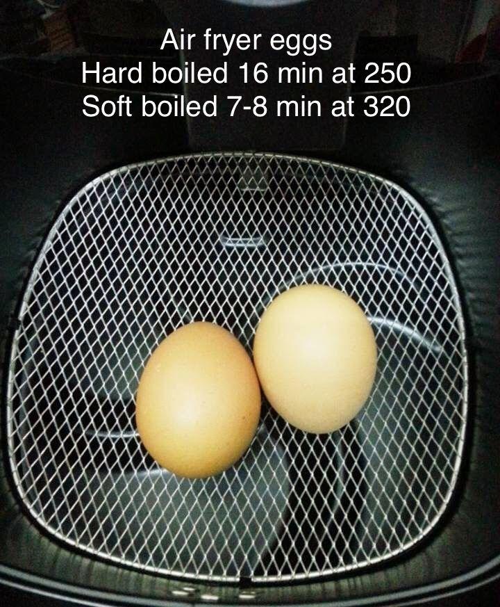 Air fryer hard boiled eggs | Air fryer, Cooks air fryer, Air
