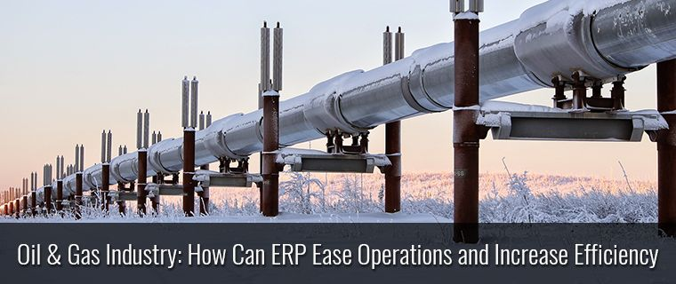 Oil & Gas Industry: How Can #ERP Ease Operations and Increase Efficiency : http://bit.ly/1mxjRpK