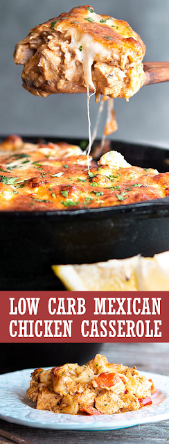 LOW CARB MEXICAN CHICKEN CASSEROLE | THEATER KITCHEN