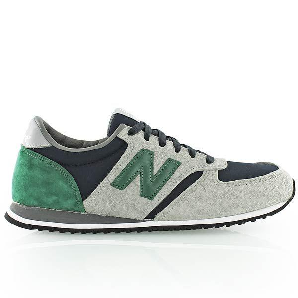 new balance u420 gris bleu vert