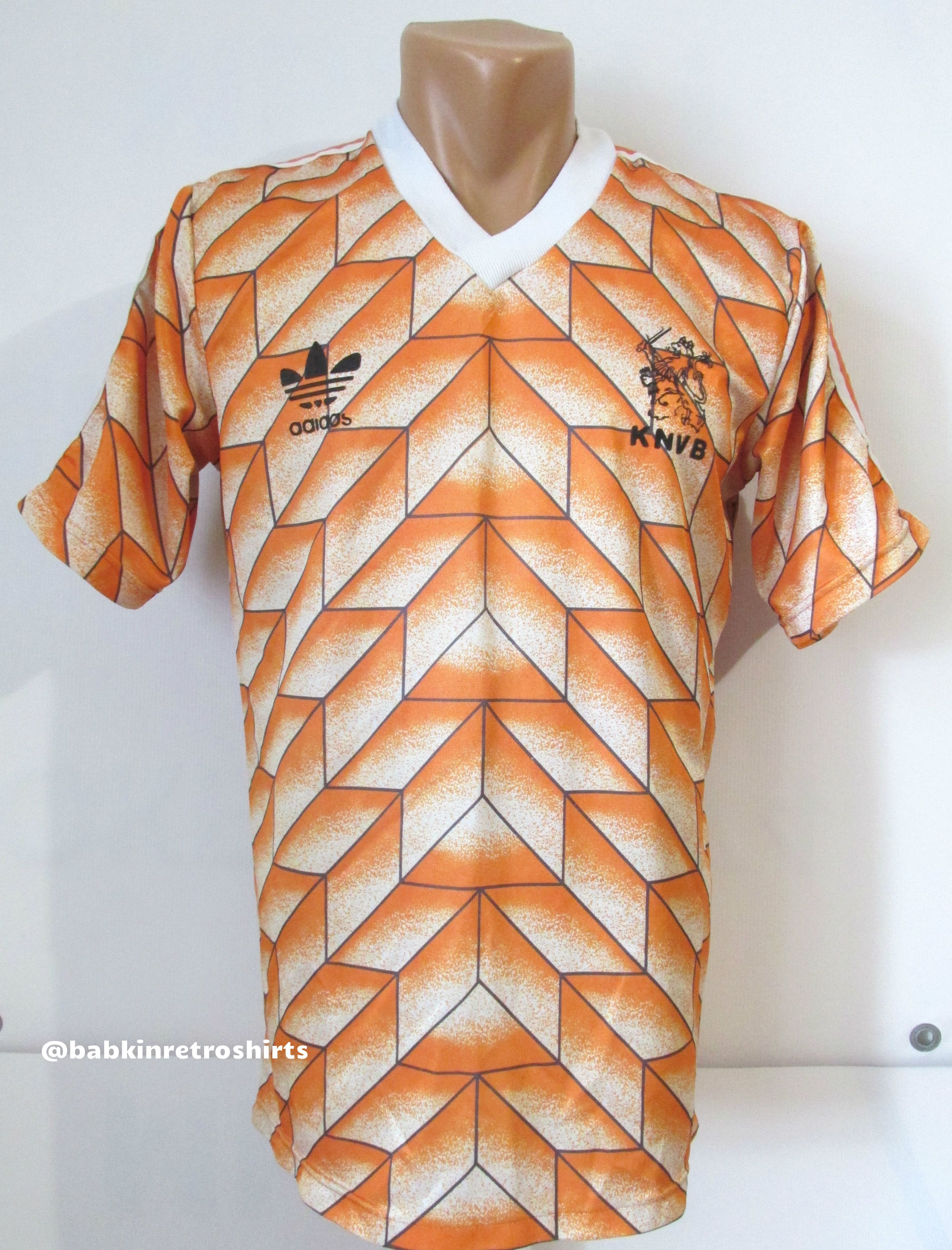 cheaper 010b6 001a0 Holland Euro 1988 home rare football shirt by Adidas KNVB ...