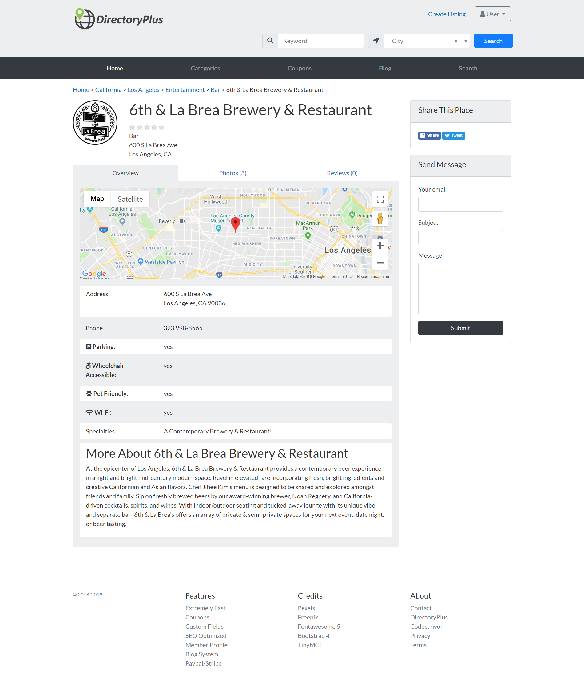 Directory Plus Business Directory Script Creating A Business Creating A Blog Responsive Design