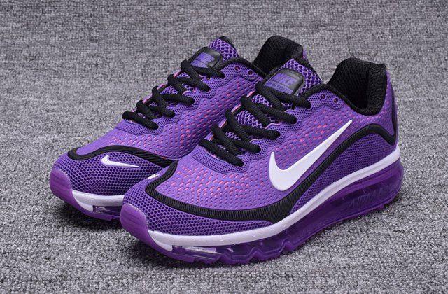 best service 4c473 7ecae Zero Defect Nike Air Max 2017 KPU Purple White Women s Running Shoes  Trainers 898013 112
