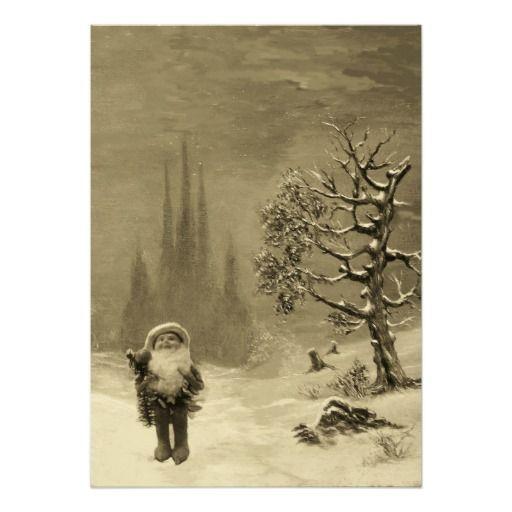 SANTA OF THE GNOMES, CHRISTMAS PARTY INVITE