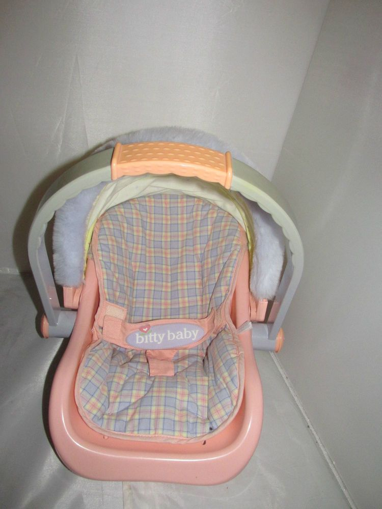 AMERICAN GIRL BITTY BABY RETIRED DOLL CARRIER CAR SEAT