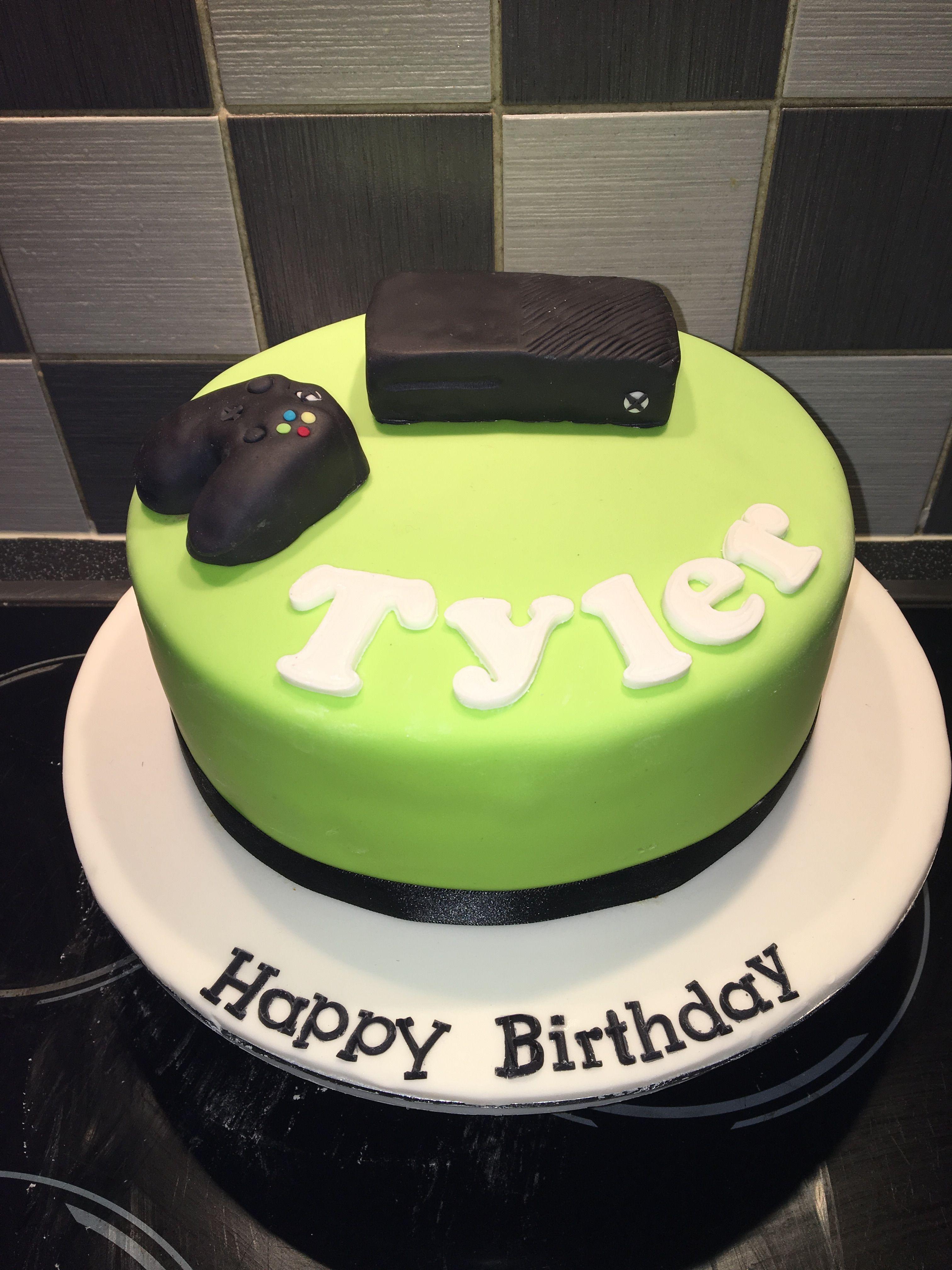 Xbox One Birthday Cake My Cakes Pinterest Xbox And Birthday Cakes