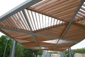 Image result for estructura moderna con viga h pergola