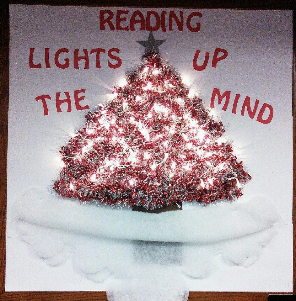 Reading Lights up the Mind Kidz Korner Display Reading