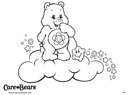 Pin By Karin Hahn On Care Bear Stare Care Bears Coloring Pages Cool Coloring Pages Bear Coloring Page