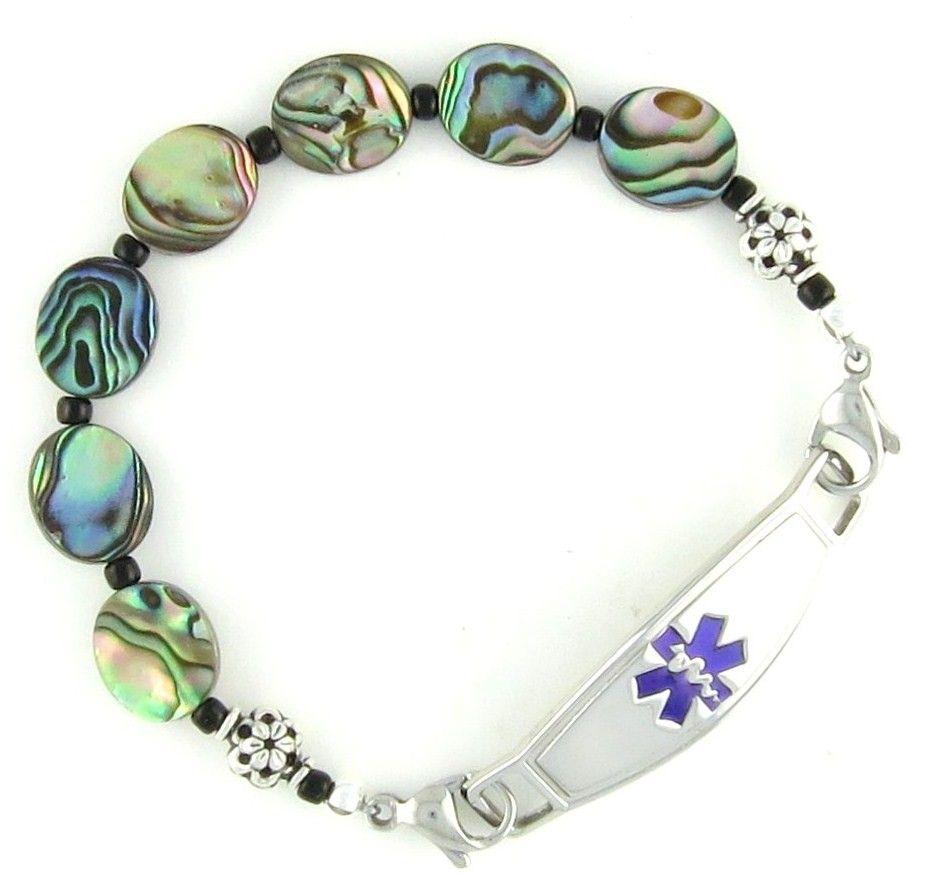 Abbey beaded medical bracelets beaded bracelets women