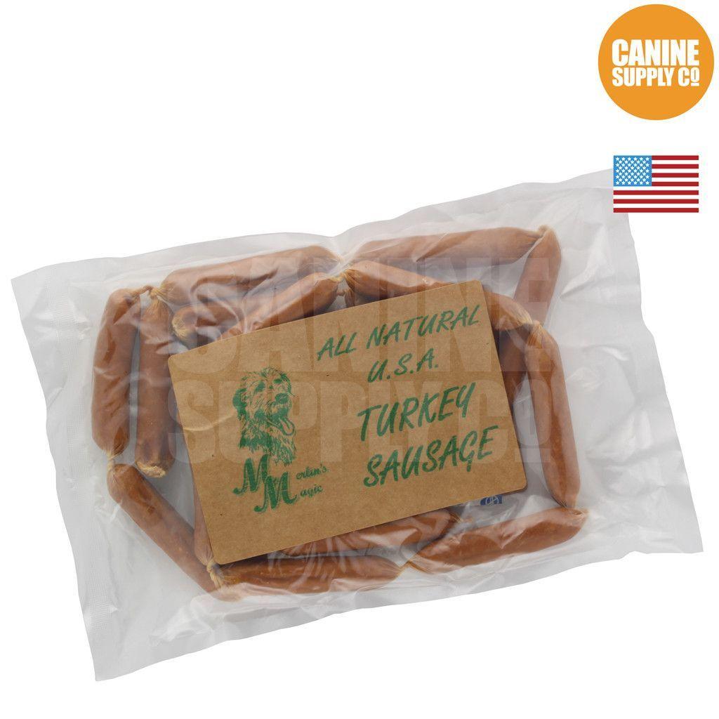 All Natural U.S.A Turkey Sausage Dog Treats, 20-count bag