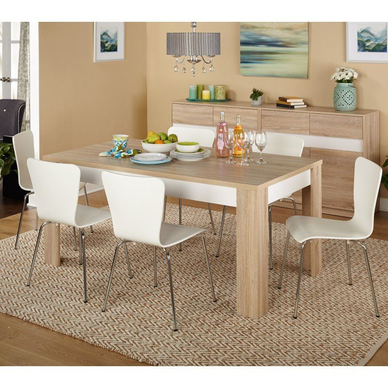 target marketing systems mandy 7 piece dining table set