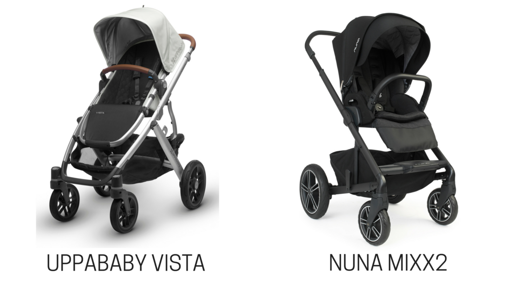 UPPAbaby VISTA vs. Nuna MIXX Stroller Comparison Future baby