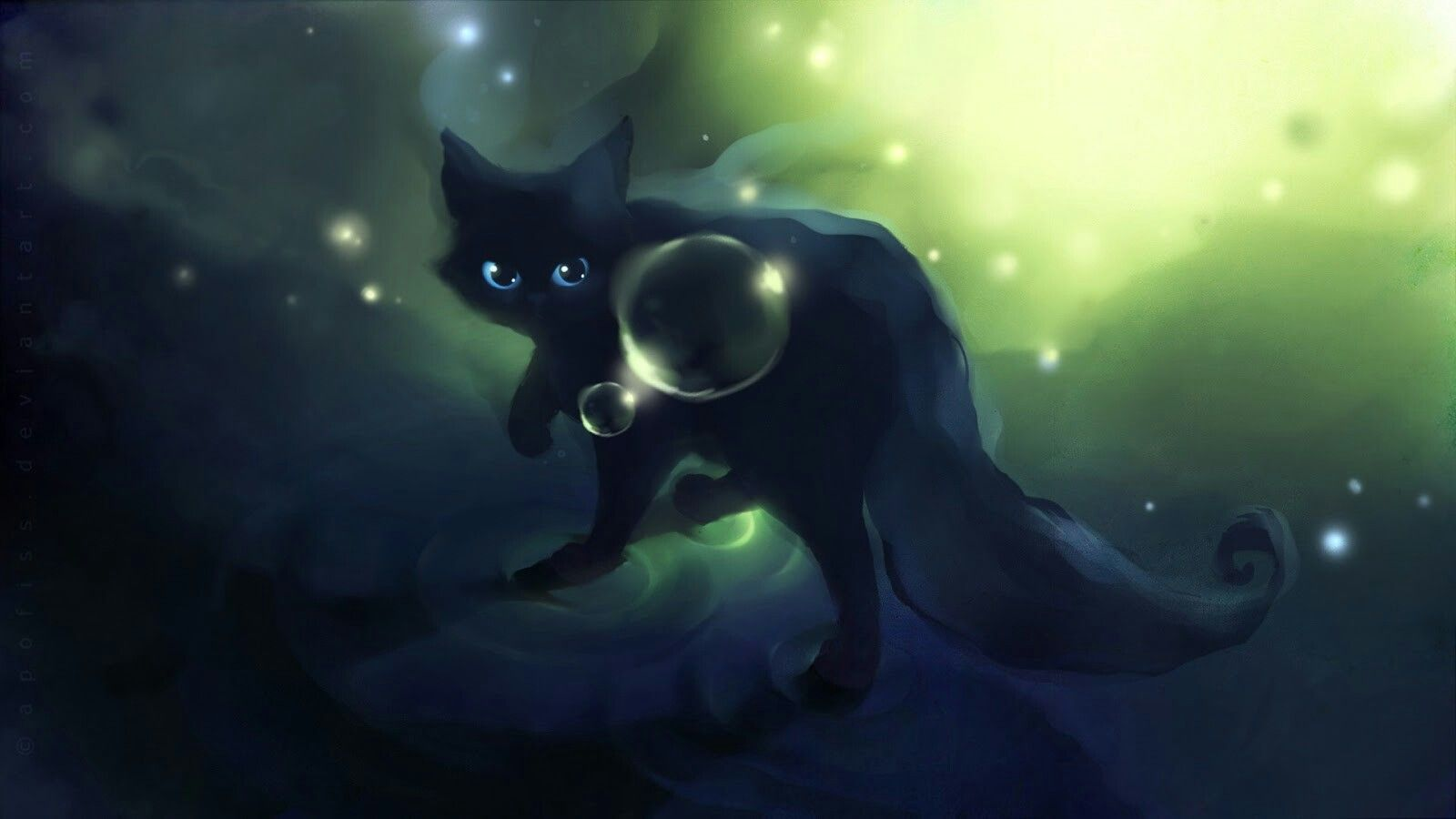 Pin By Kaworu Nagisa On Anime Cute Anime Cat Cat Wallpaper Cat