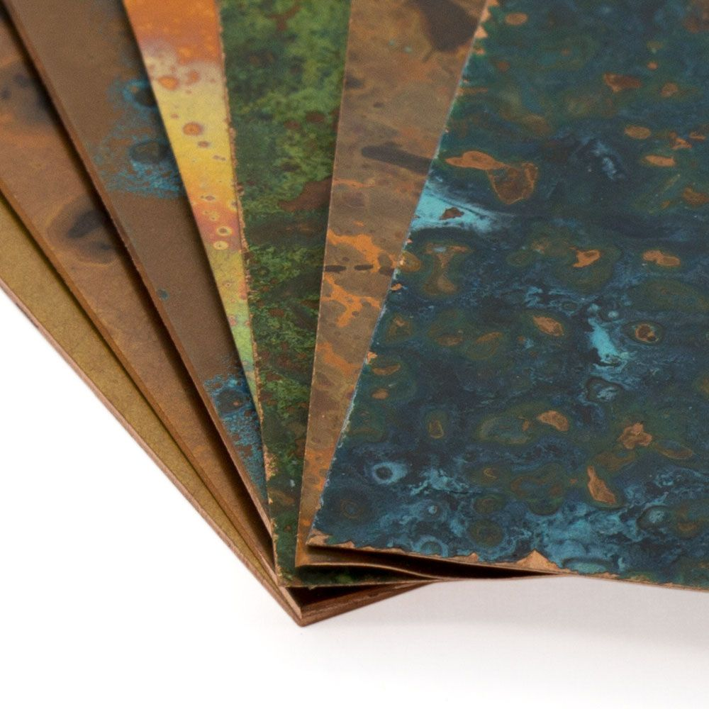 Patina Copper Sheet Metal By Lillypilly Designs Sheet