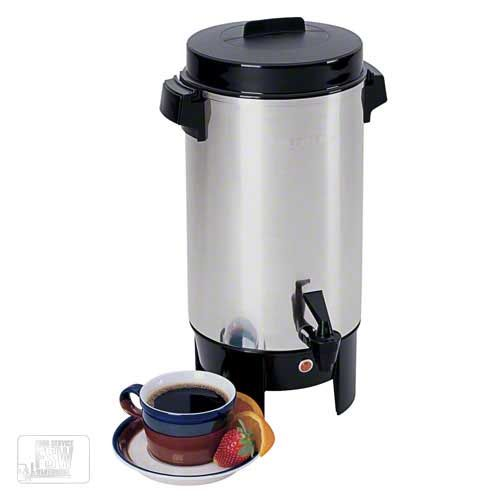 Focus Foodservice 58002 42 Cup Aluminum West Bend Residential Coffee Urn Foodservicewarehouse Com Coffee Urn Percolator Coffee Percolator