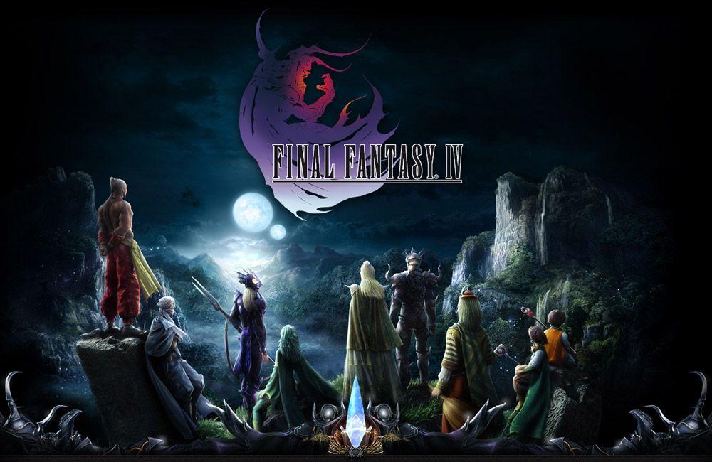 Final Fantasy Iv Ds Final Fantasy Iv Final Fantasy Final