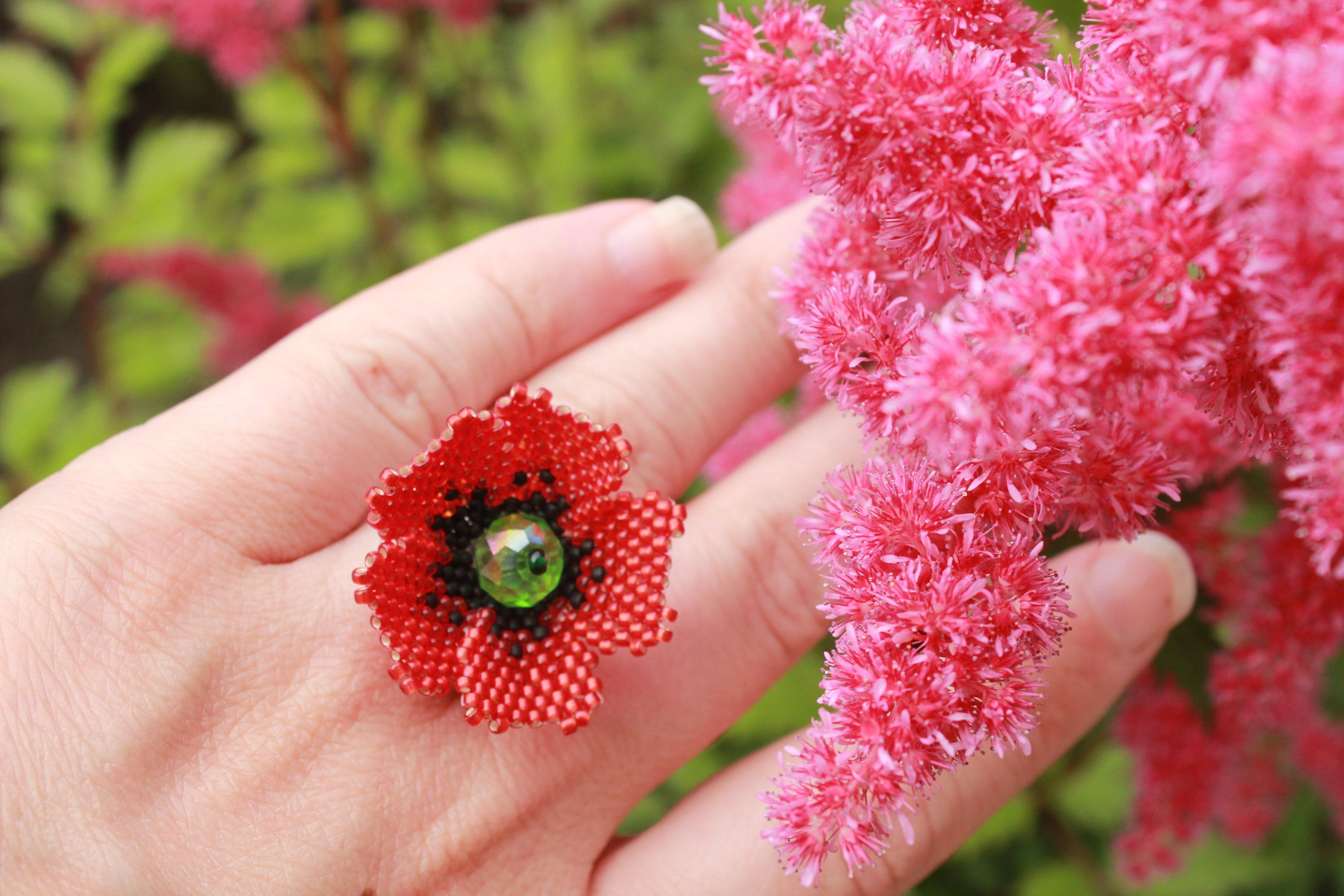 Image result for This pretty floral ring birthday gift images