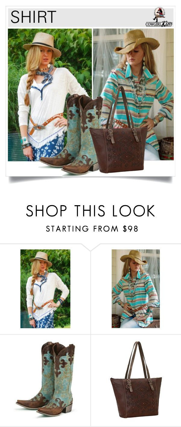 """""""SHOP - Cowgirl Kim Unique Western Chic"""" by cowgirlkim ❤ liked on Polyvore featuring Tasha Polizzi"""