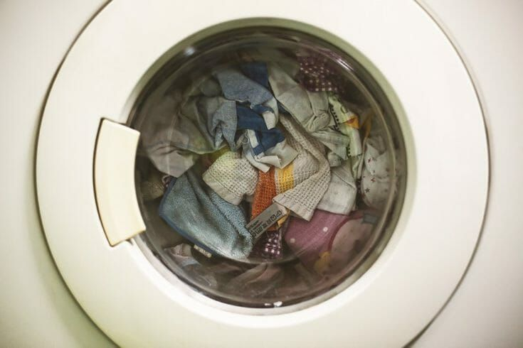 how to clean dog hair from washing machine