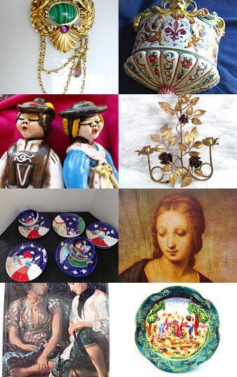 Italian Treasures by Susan Linthicum on Etsy--Pinned with TreasuryPin.com