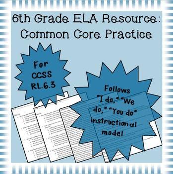6th Grade Common Core Practice - RI.6.6 - 3 mini-lessons | Pinterest ...