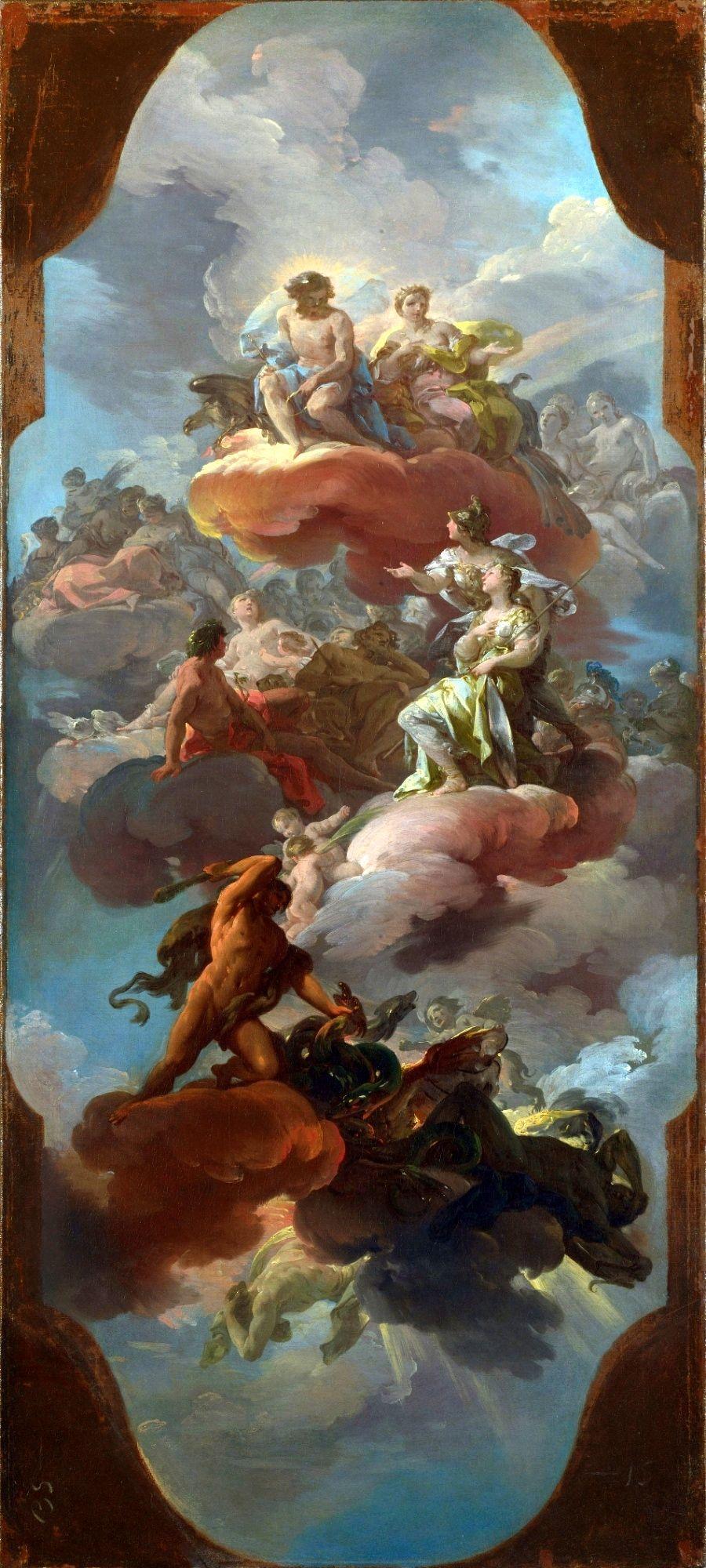 Corrado Giaquinto (Italian 1703–1756) [Baroque, Rococco ...