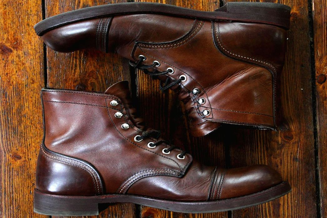 48fcbf005b9 Fade of the Day - Red Wing 8111 Iron Ranger (3 Years) | Boots ...