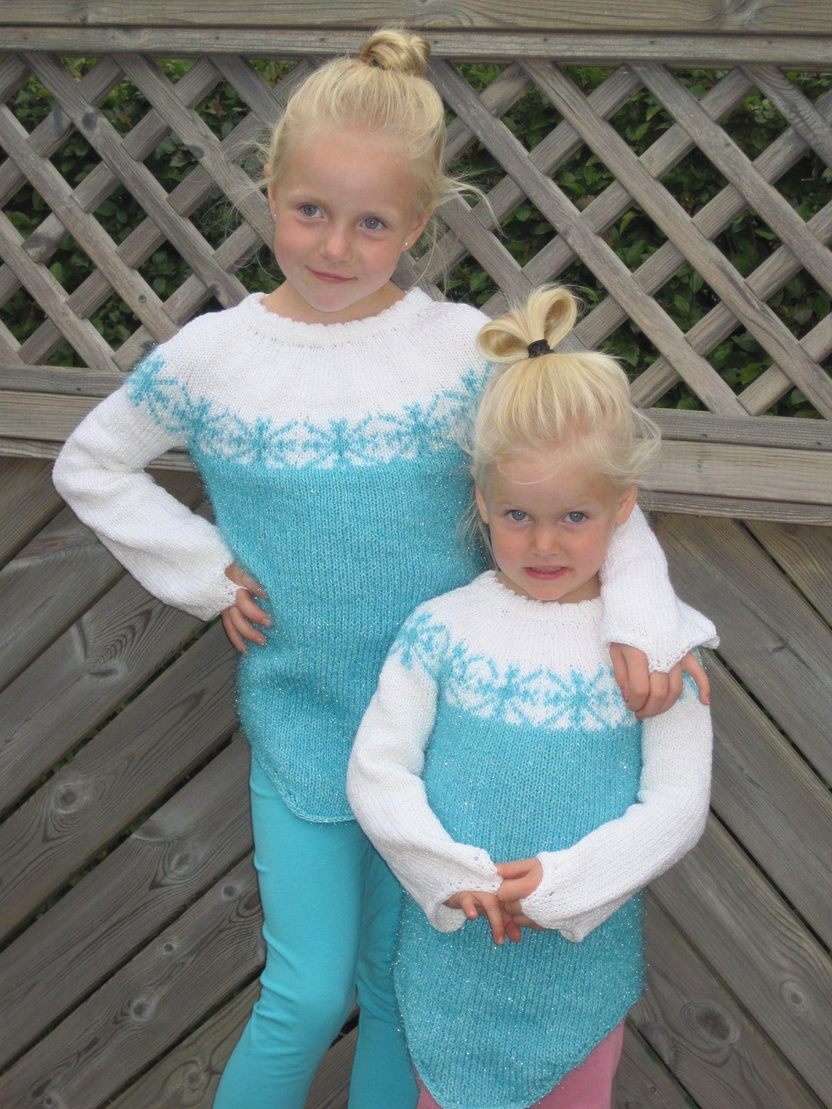 Elsa i Frozen peysa Knit and crochet Pinterest Elsa, Elsa frozen and Cr...