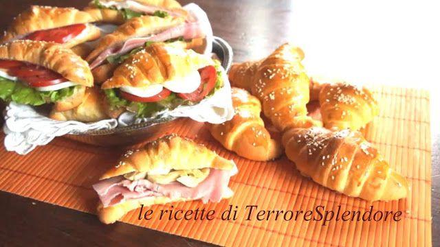 Le ricette di TerroreSplendore: Cornetti salati per rinfreschi