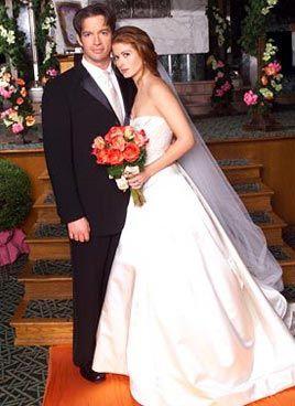 Grace 39 s wedding dress on will grace google search for Jill goodacre wedding dress