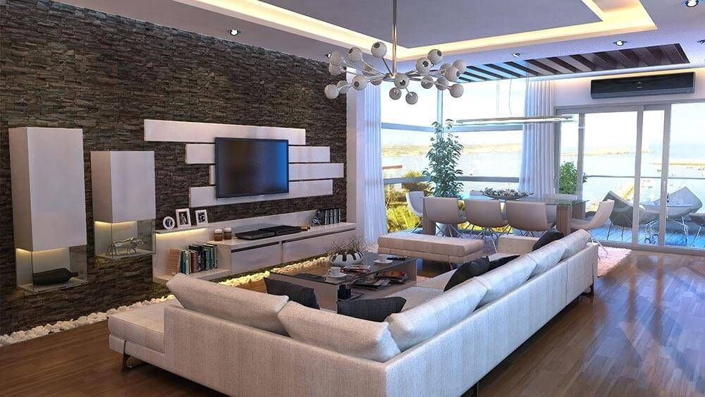 Best Stone Wall Designs Of 2018 Which You Can Have Too Living Room Modern Rooms Home Decor Living Room Designs