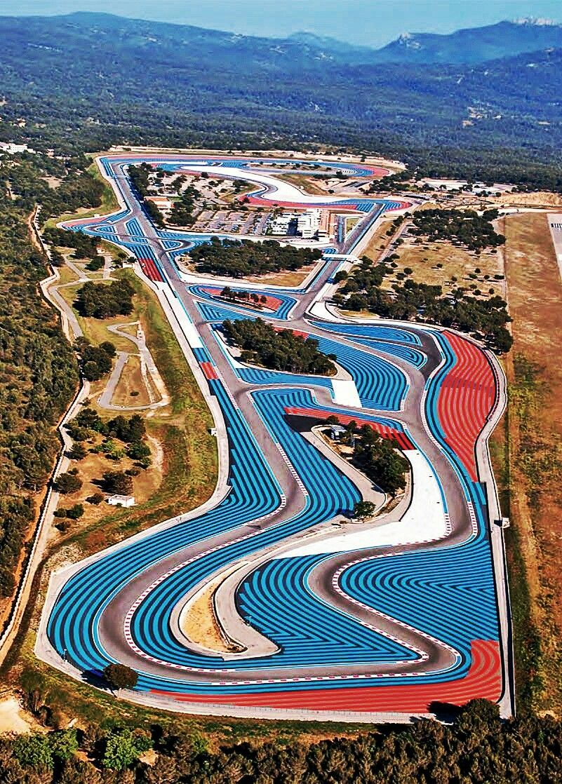 2018 French GP The beautiful Circuit Paul Ricard, site