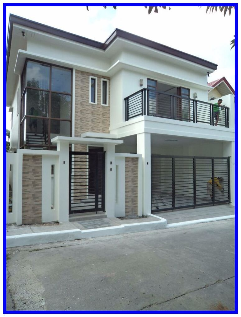 44 Reference Of Balcony Modern House Philippines House Design House Front Design Modern House Plans