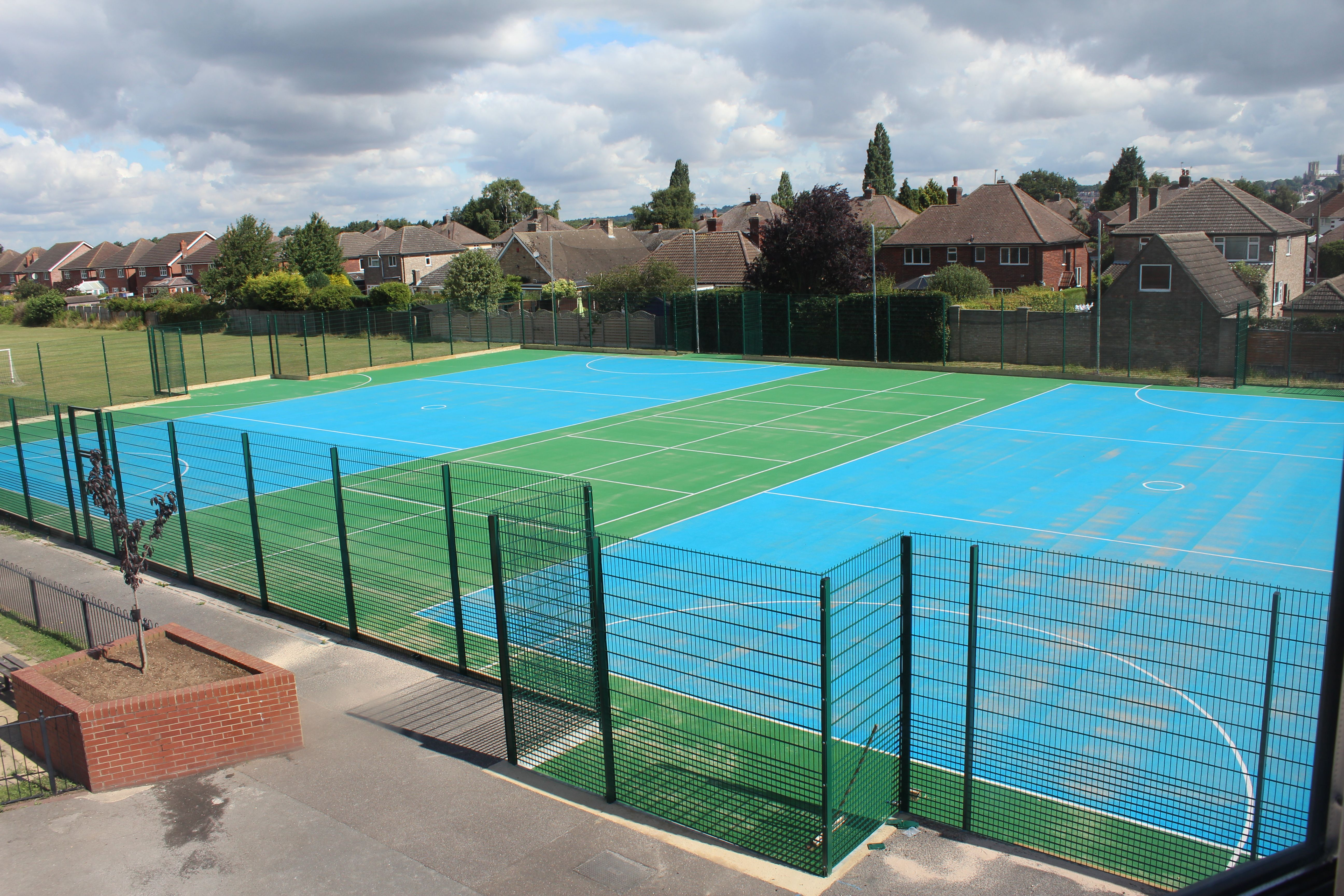 St Peter & St Paul's Catholic School in Lincoln now has a